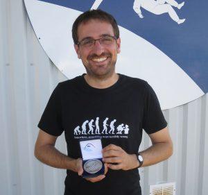 Tim im Glück mit Batzen Bronze